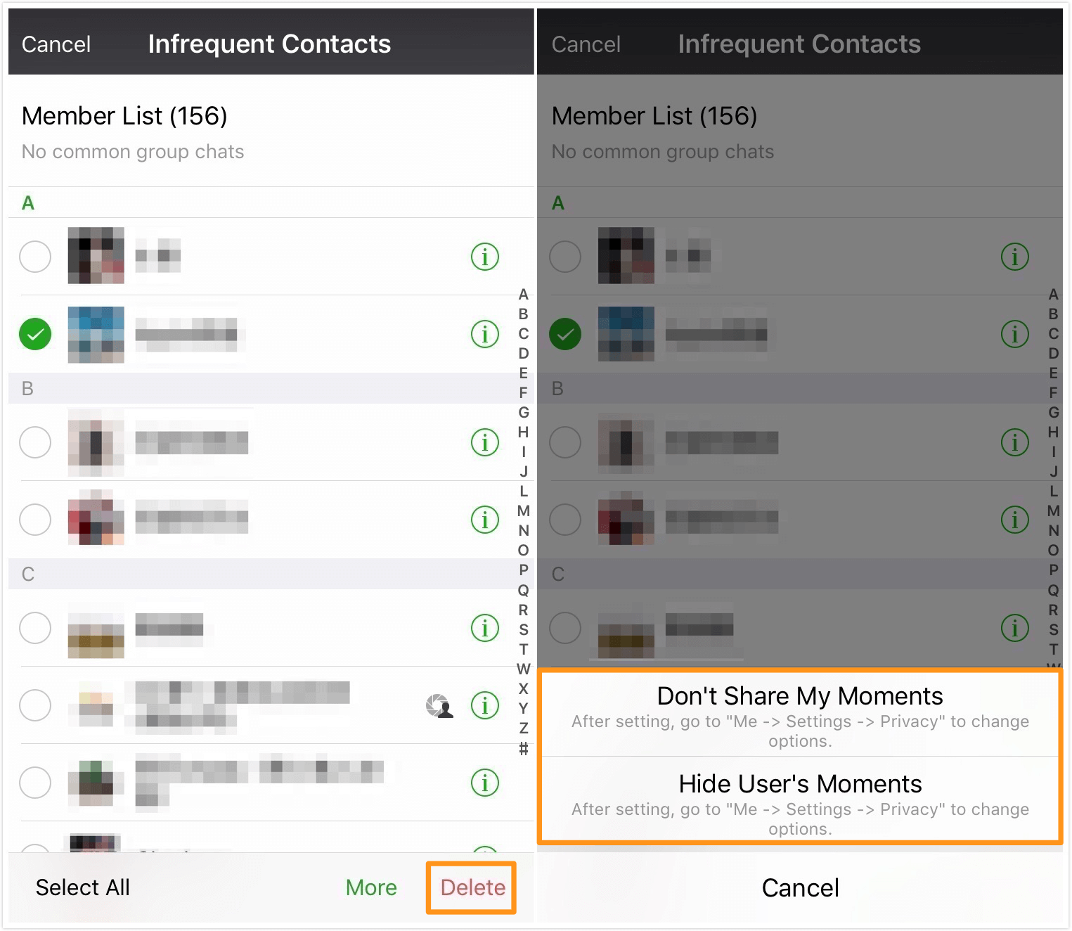 Infrequent Contacts Compile 2