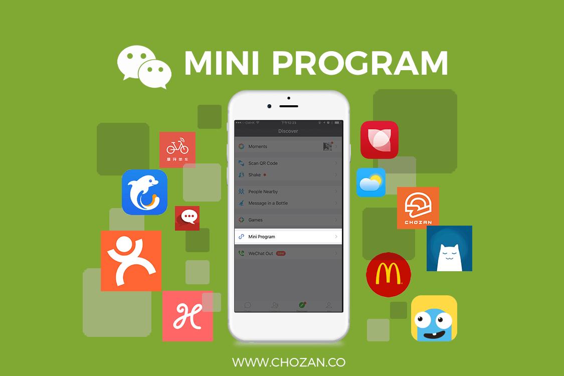 What are WeChat Mini Programs? - ChoZan