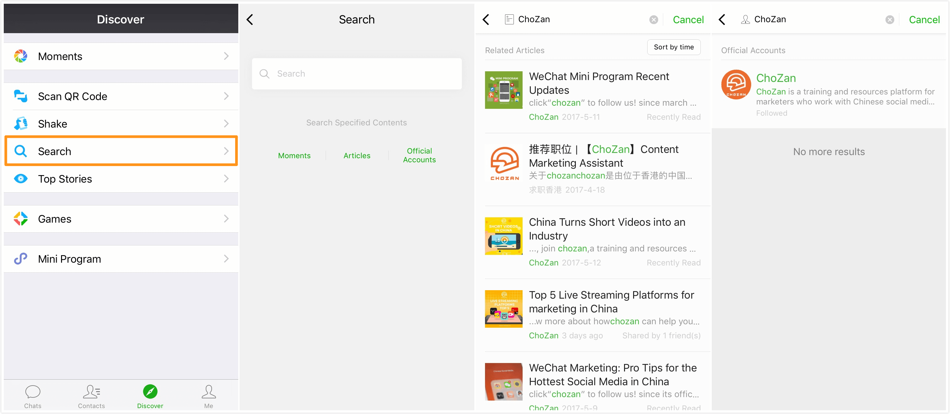 WeChat Introduces WeChat Labs and New Moments Ad Format - ChoZan